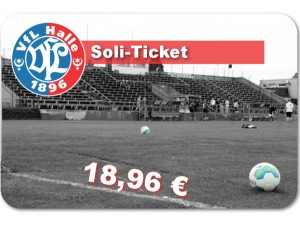 VfL Halle 96 Soli-Ticket