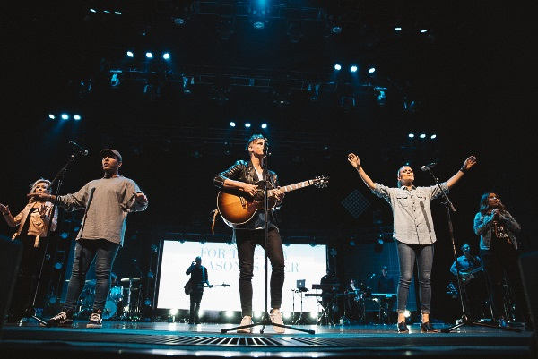 Elevation Worship on stage